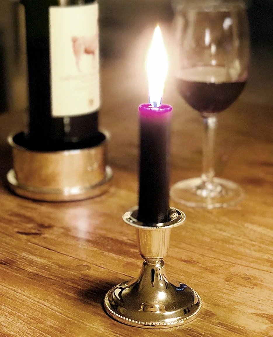 1191 2er Set Kerzenleuchter Perla für Stabkerze Höhe 7 cm