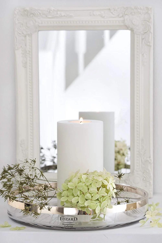 "7661 Deko Kerze Hochzeit Tischdeko Teelicht Teelichthalter Dauerkerze ""Cornelius"""