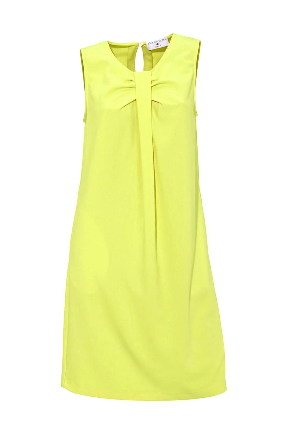 197.556 RICK CARDONA Damen Designer-Etuikleid Limette