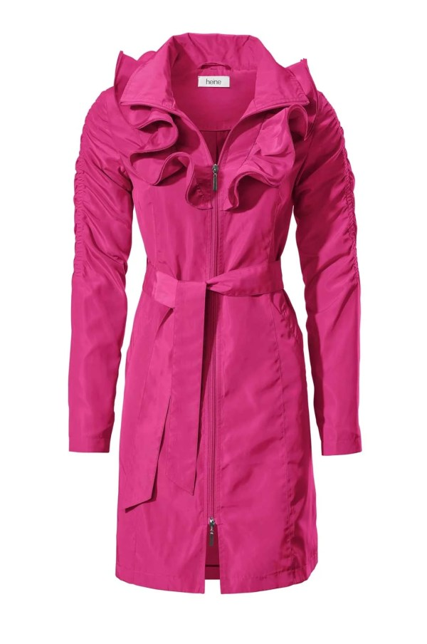 Trenchcoat in pink | Missforty