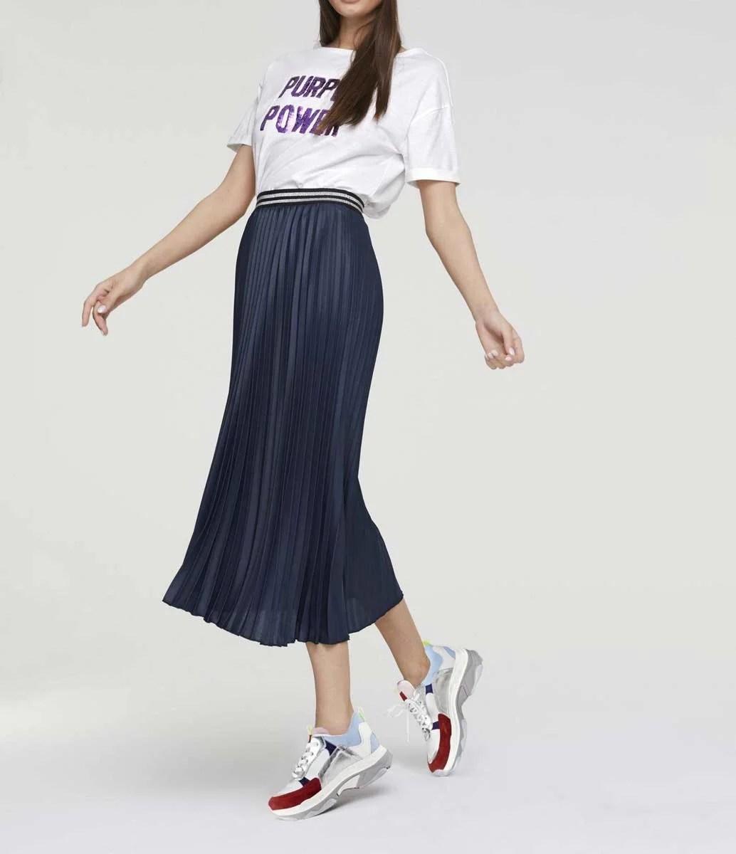 494.507 HEINE Damen Designer-Jerseyshirt m. Pailletten Offwhite