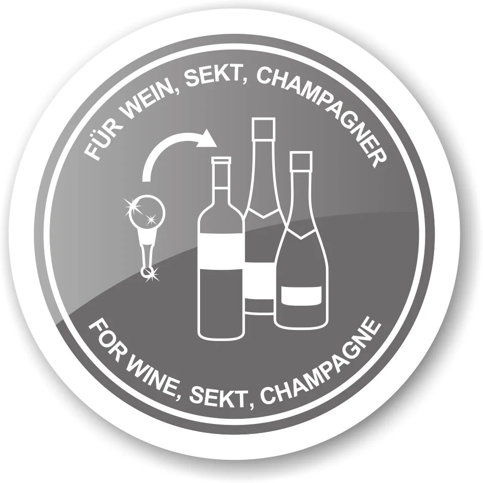 8542 Flaschenverschluss Schuh für Champagner, Wein und Sekt, Höhe 12 cm, Muranoglas-Art, Handarbeit