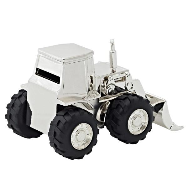 2290 Spardose Sparbüchse Traktor Trecker, Höhe 9 cm