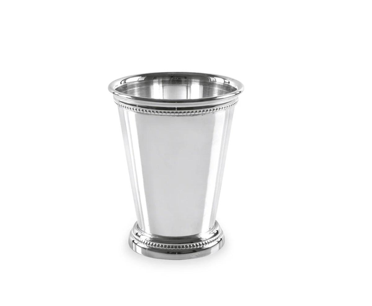 3005 Vase Dekovase Bechervase Perla, schwerversilbert, Höhe 11 cm, Durchmesser 9 cm