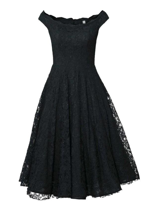 032.944 Heine Cocktailkleid mit Petticoat schwarz