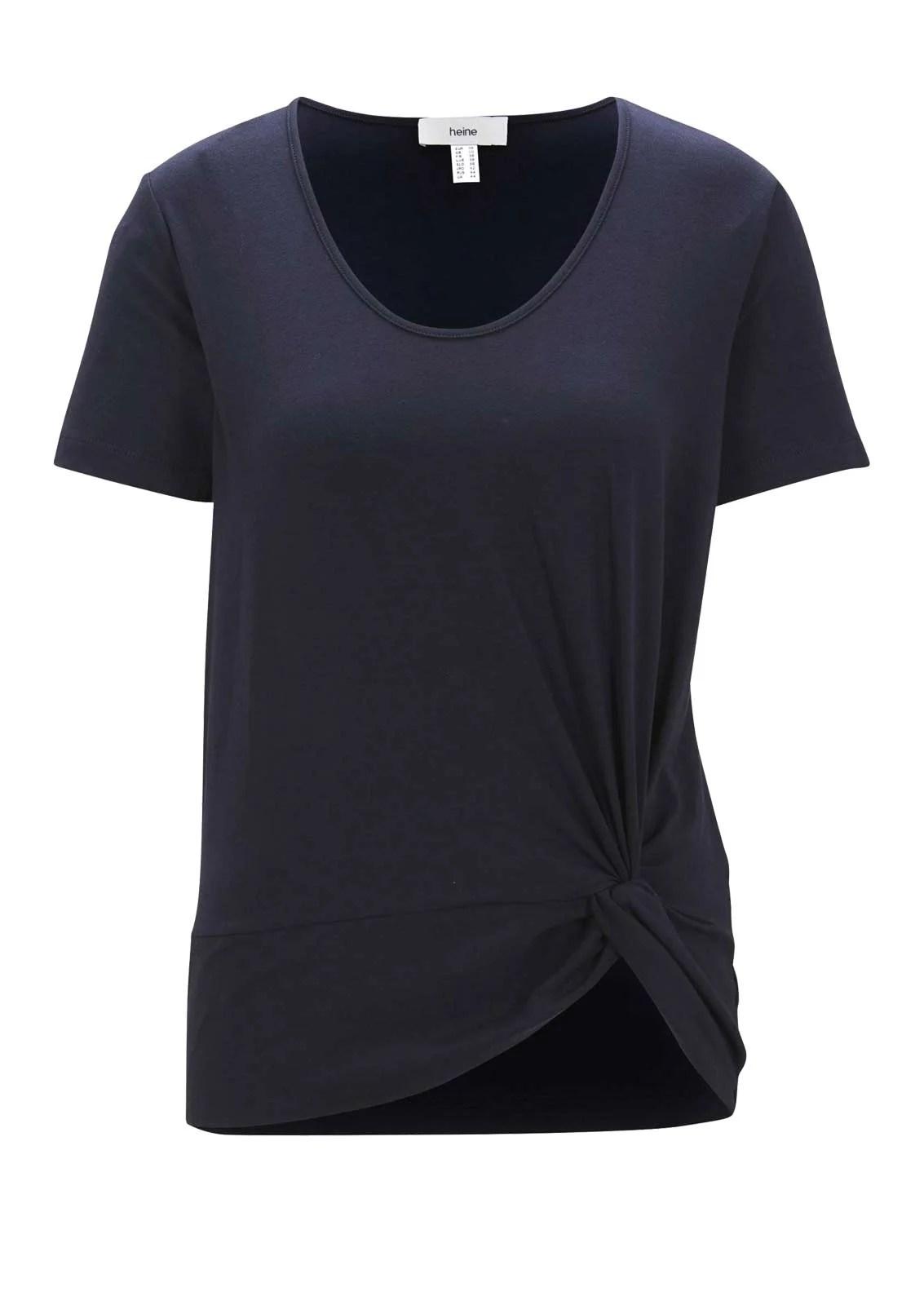 850.803 HEINE Damen Designer-Jerseyshirt Marine