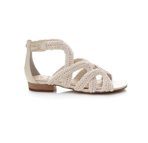 190.465 GUESS Damen Marken-Sandalette Beige