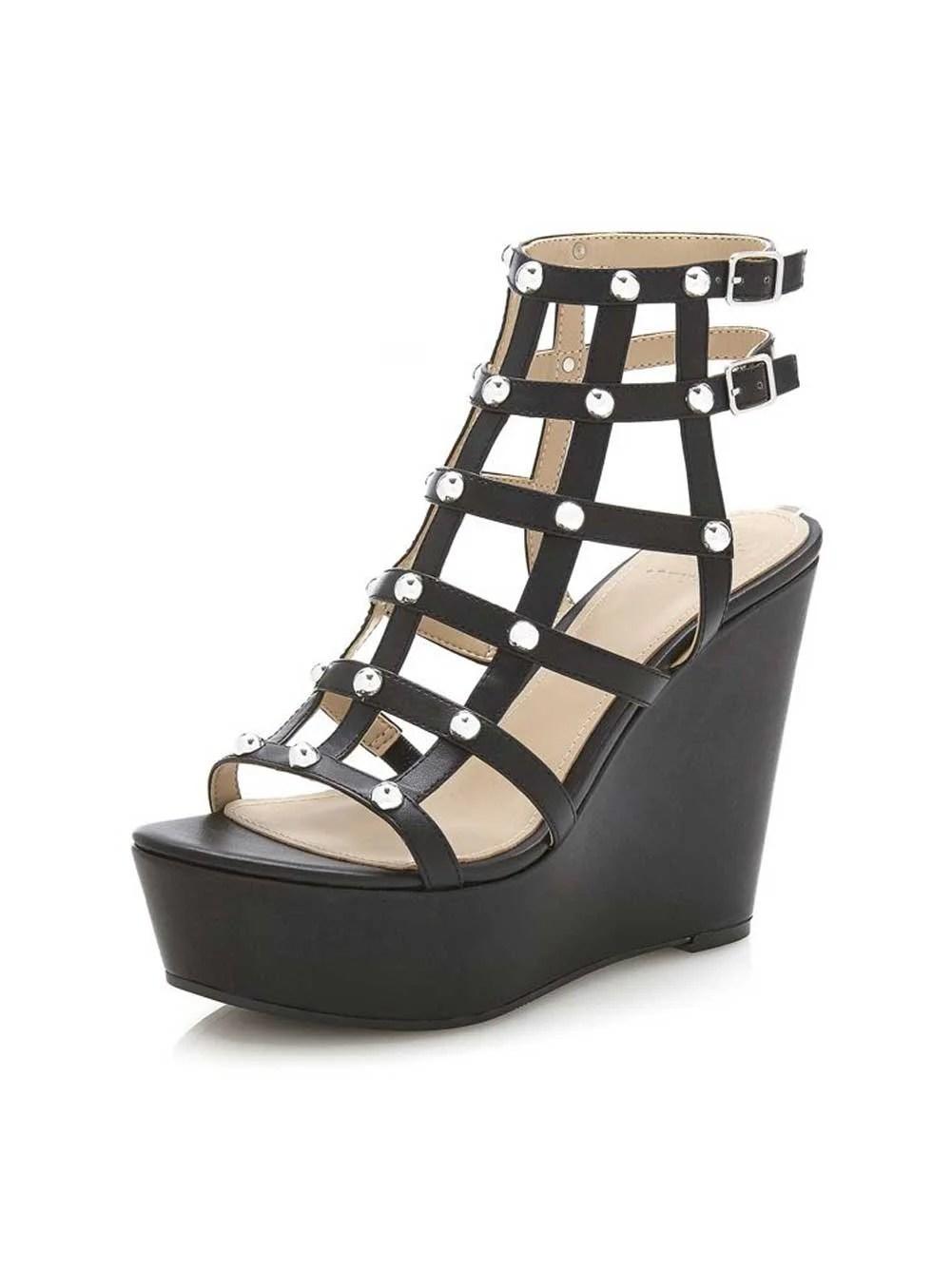 GUESS Sandalen mit Keilabsatz | Missforty
