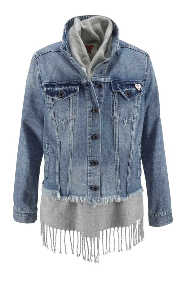 610.415 SCOTCH&SODA Jeansjacke Damen Used