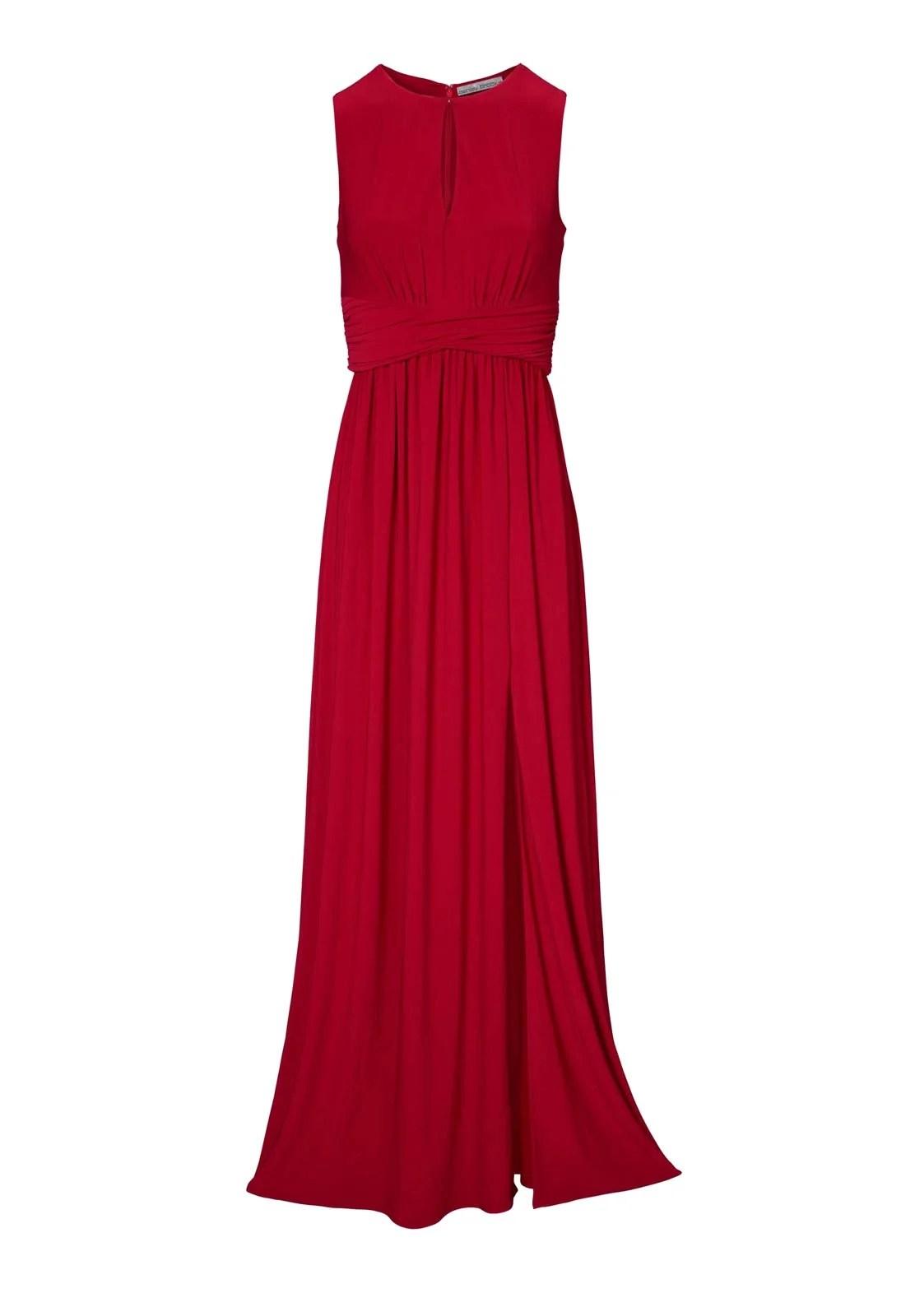 Festmoden ASHLEY BROOKE Damen Designer-Abendkleid Rot 096.686 Missforty