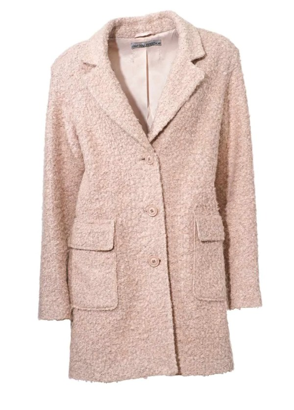 Damenmäntel Frühjahr 2021 Ashley Brooke Damen-Kurzmantel Mantel Hellrosa Bouclé-Flauschmantel rosé Rosa 180.272 Missforty