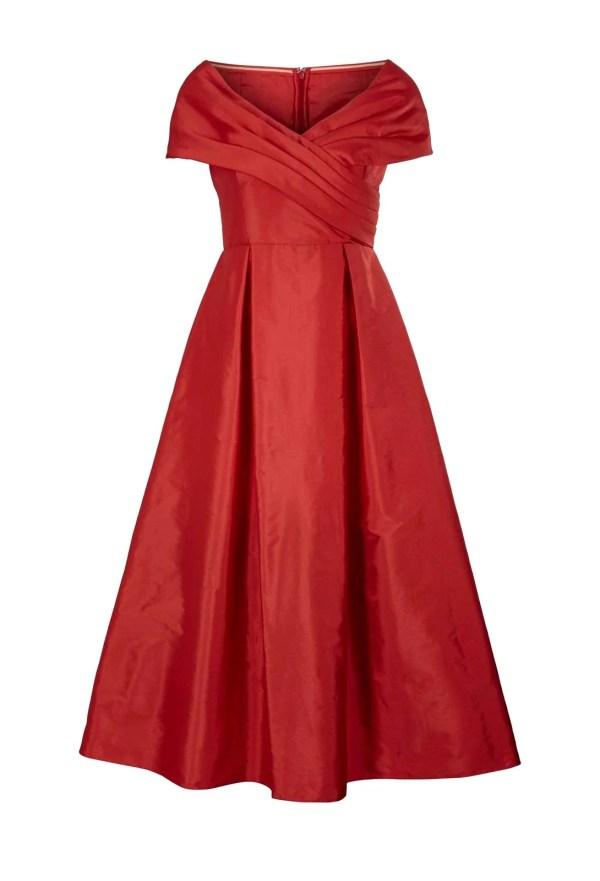 kurzes kleid für besondere anlässe HEINE Cocktailkleid Petticoat Petticoatkleid Ballkleid Midikleid Abendkleid Rot 342.455 Missforty