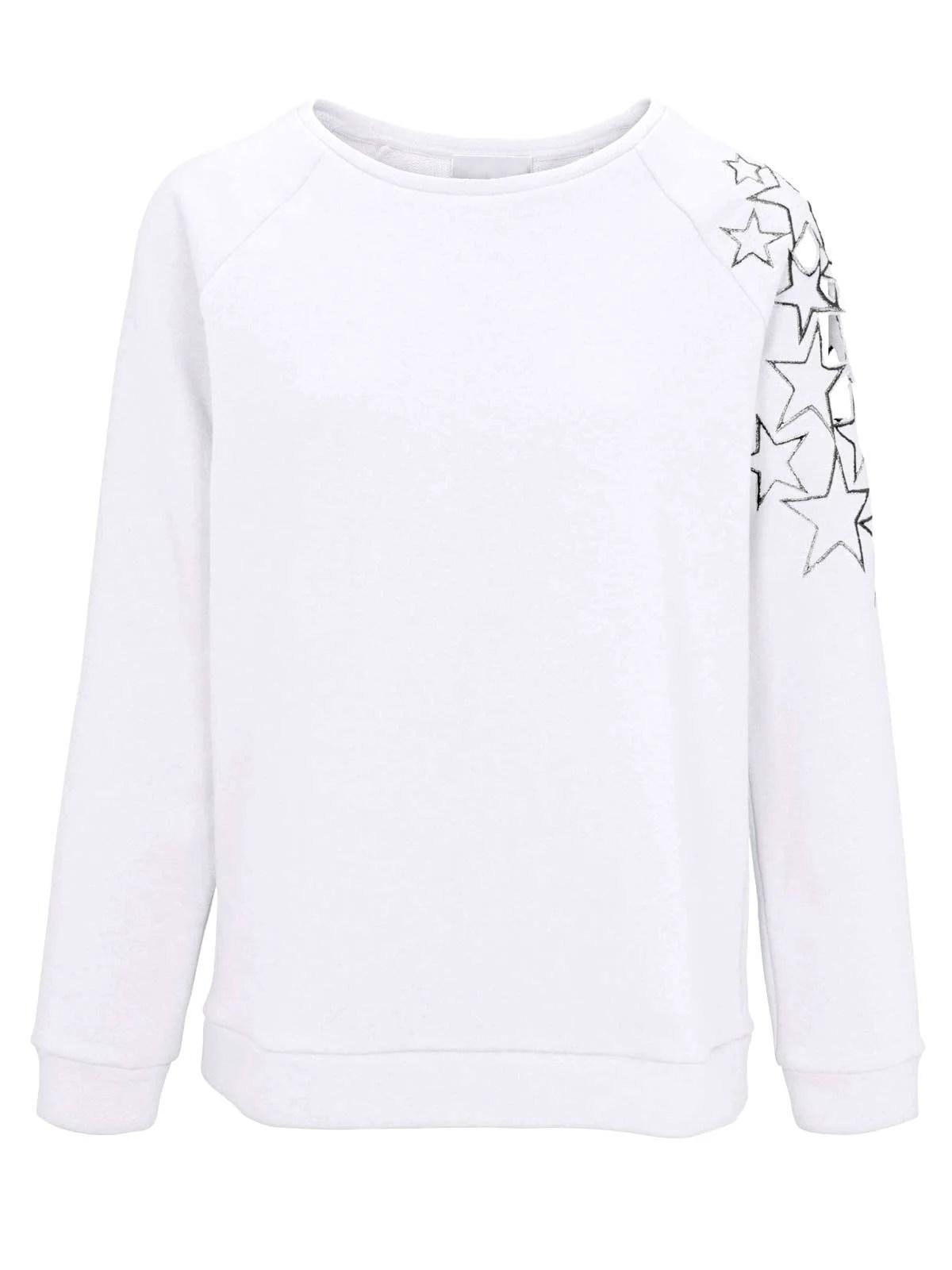 sweatshirts auf rechnung Sweatshirt von Heine, weiß 912.252 MISSFORTY