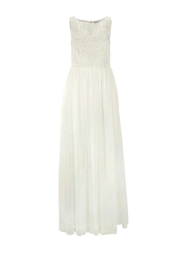 Brautkleider Standesamt | 976.338 Hochzeitskleid mit Pailletten