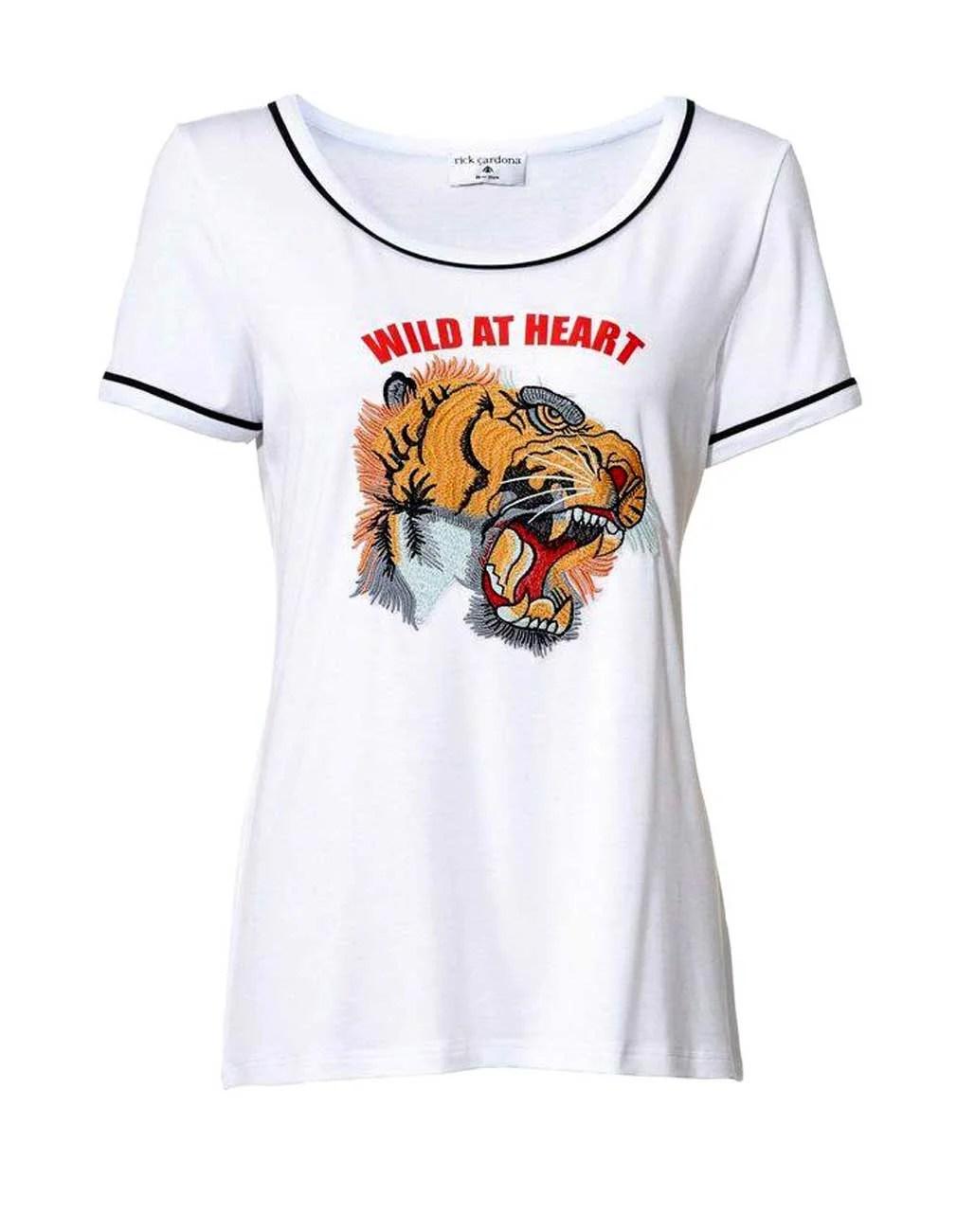 087.053 Rick Cardona Shirt, weiß