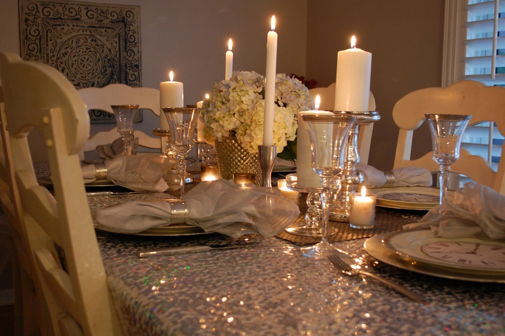 Another Intimate New Year\'s Eve at Home - Miss Frugal Fancy Pants