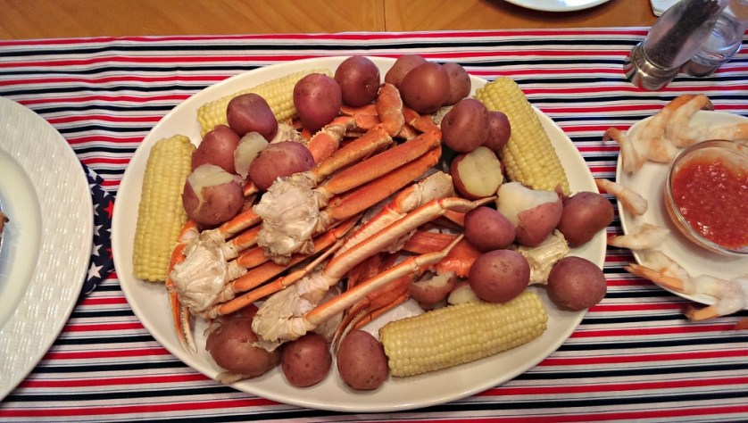 4th of July Crab Boil | missfrugalfancypants.com
