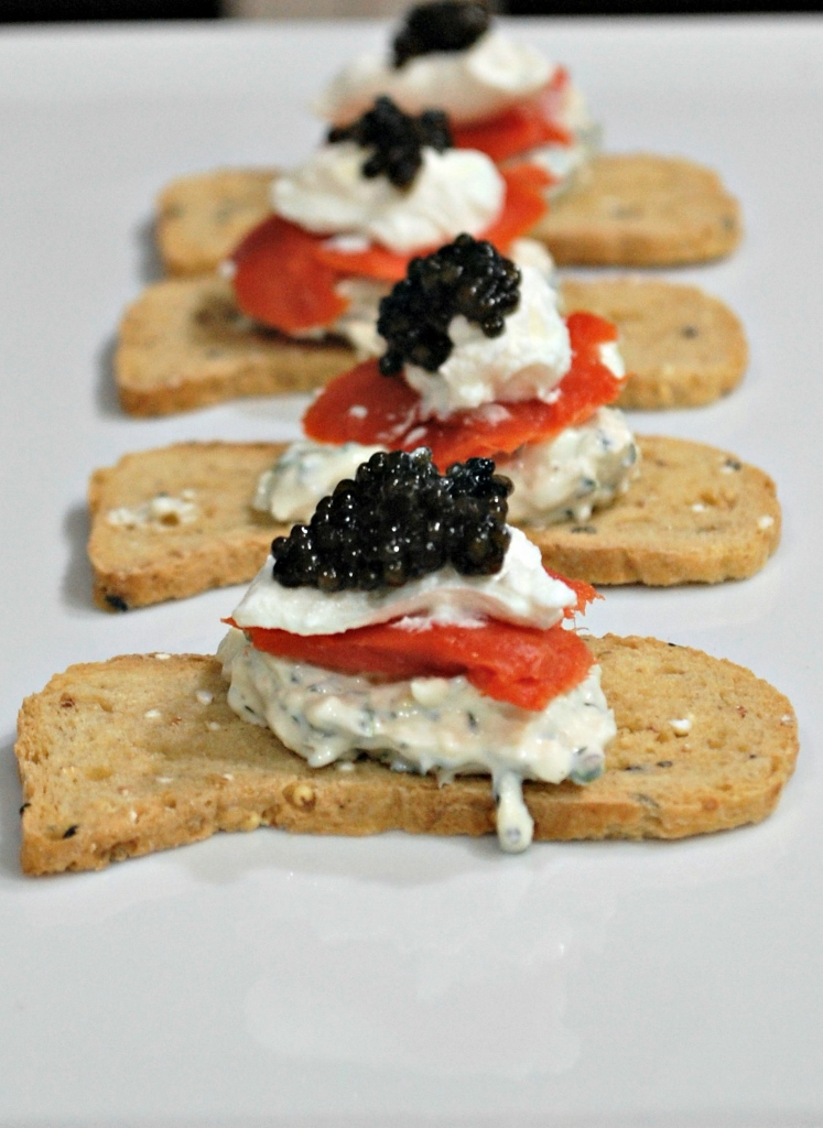 New Year's Eve Appetizers | missfrugalfancypants.com