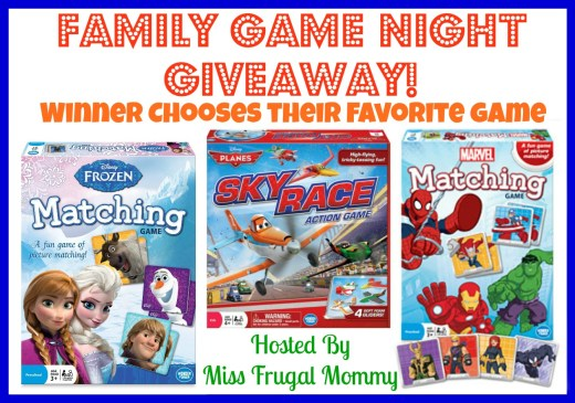 Family Game Night Giveaway: Winner's Choice