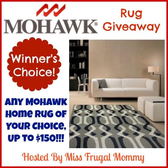 Mohawk Rug Giveaway