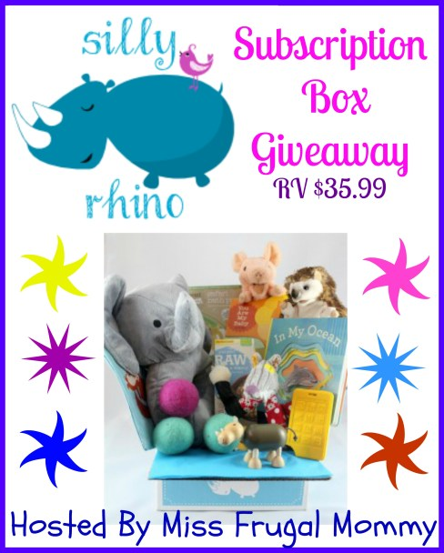 Silly Rhino Subscription Box Giveaway