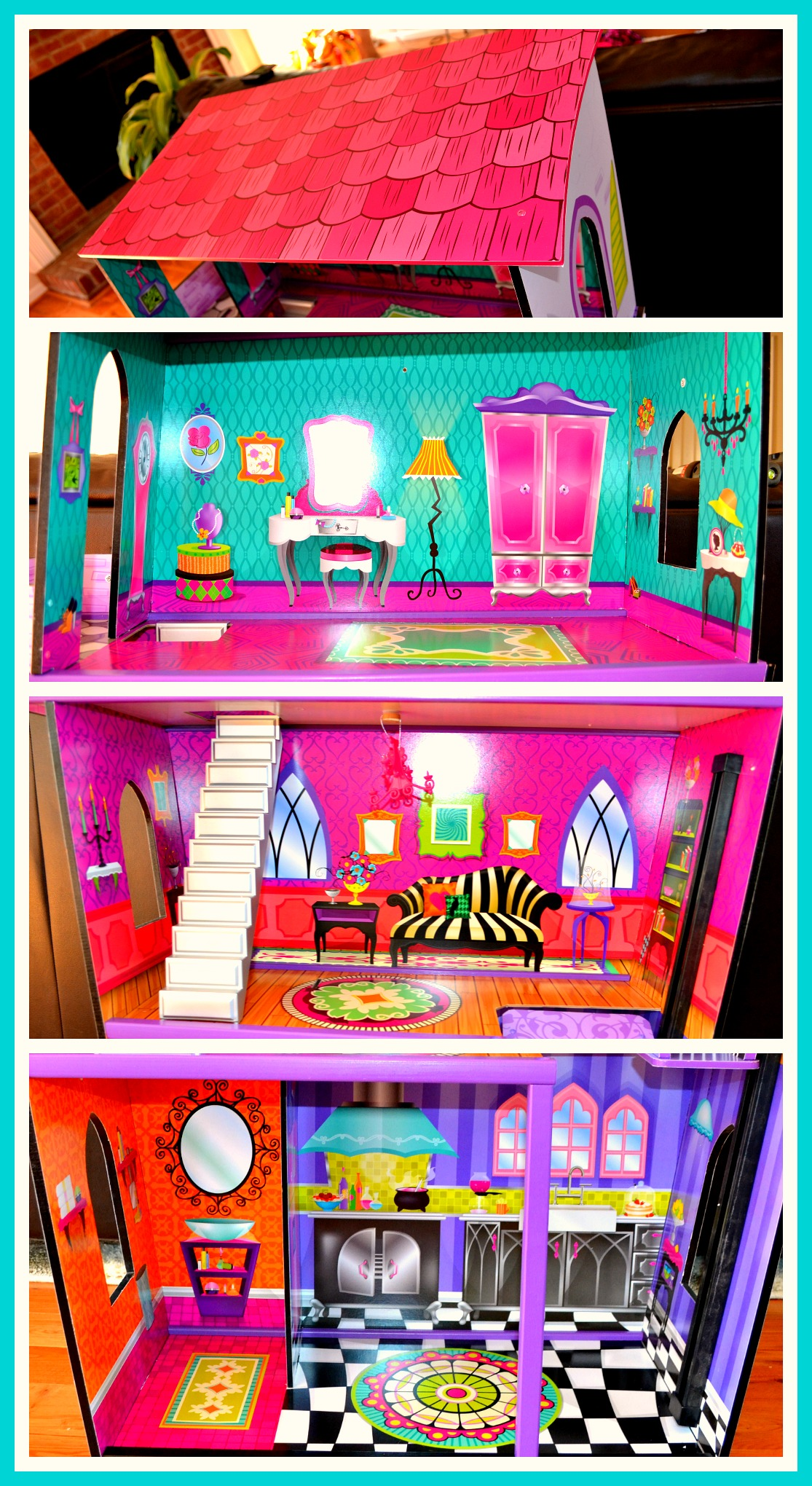 outdoor chair glides folding v-tip kidkraft monster manor dollhouse review – miss frugal mommy