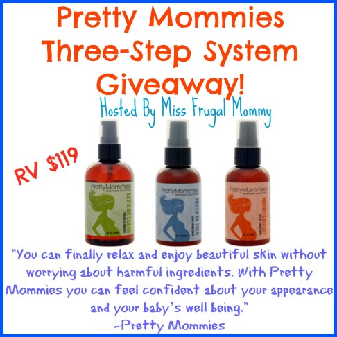 Pretty Mommies Skincare 3 Step System Giveaway
