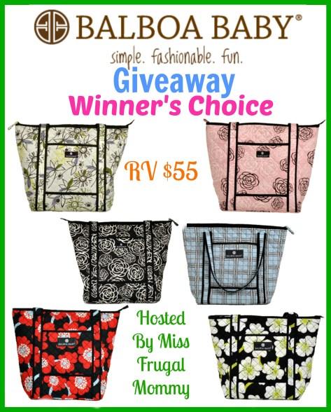 Balboa Baby Tote Giveaway (Winner's Choice)