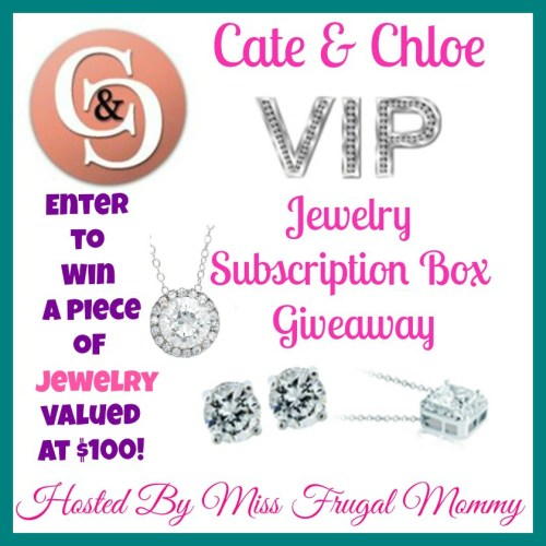 Cate & Chloe VIP Jewelry Subscription Box Giveaway