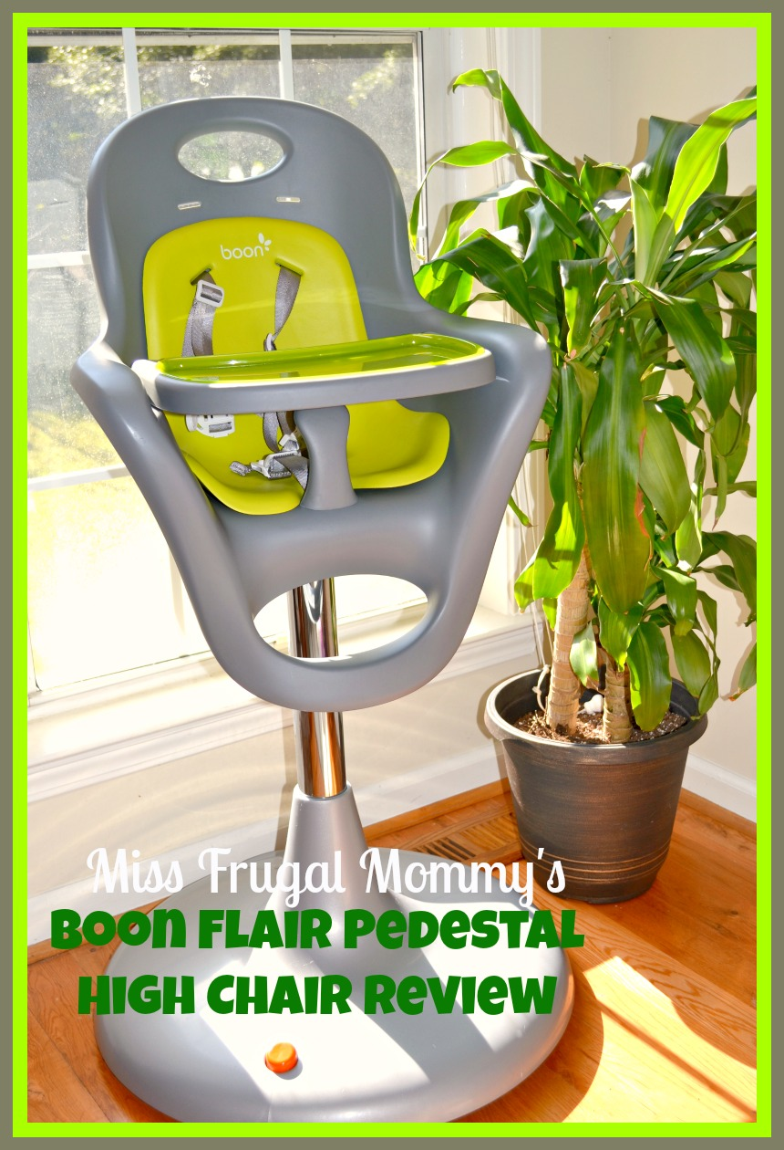boon flair high chair green desk covers walmart pedestal from pishposhbaby miss frugal mommy