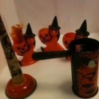 Vintage halloween toys