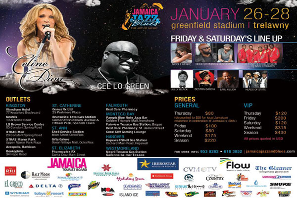 Jazz Jamaica 2013 Line