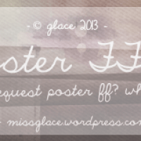 Request Poster FF || OPEN