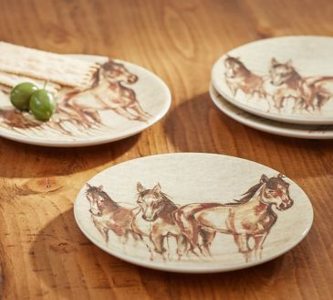 horse-cocktail-plate-set-of-4-o