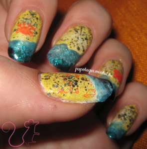 Stamping de coquillages