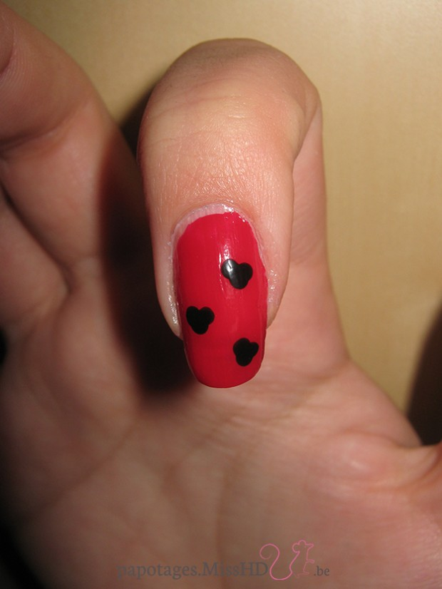 Nail art Mickey & Co