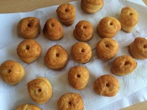 Frittierte Cronuts