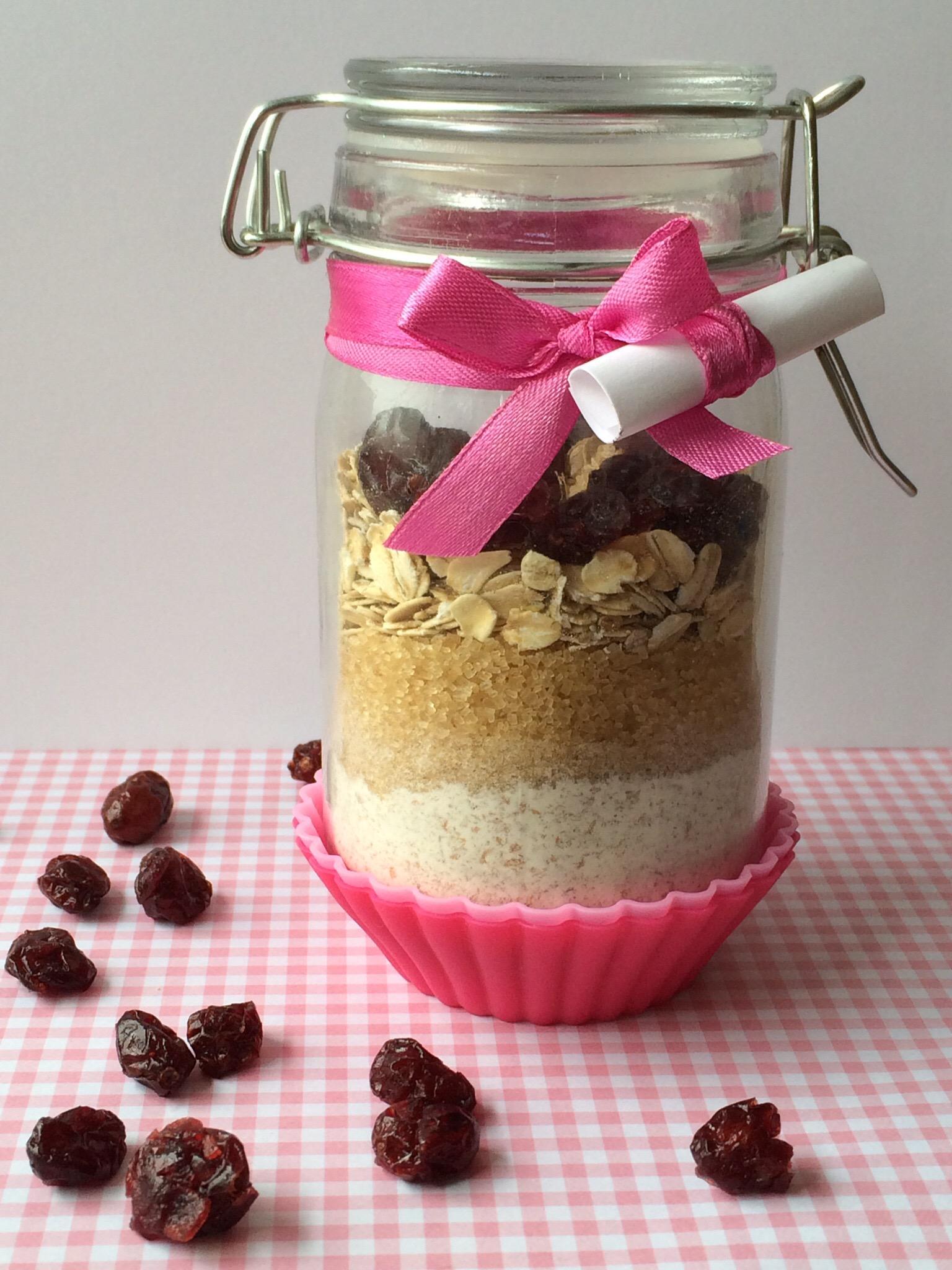 Backmischung Für Vegane Frühstücksmuffins Im Glas Miss Made