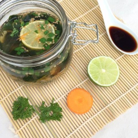 Suppe im Glas selber machen to go gesund