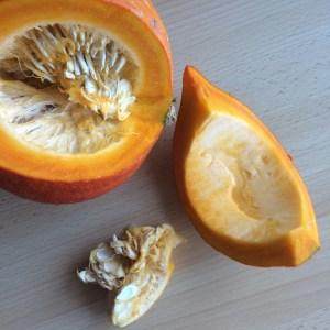 Zubereitung Chips vegan gesund Kürbis