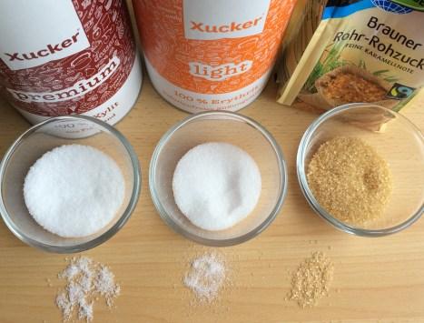 Vergleich Zucker Xucker