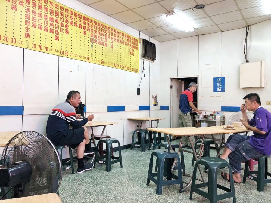 台中西區美食 聰明魚店 向上市場 虱目魚 鱸魚 深海石斑魚 魚湯 魚粥 豬腳飯 美村路一段
