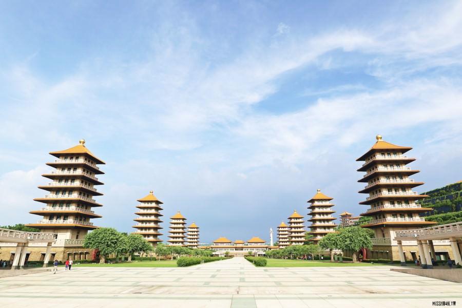 高雄大樹景點 佛光山佛陀紀念館 親子同遊 老少咸宜 震撼的建築之美 - 瓦妮又在吃