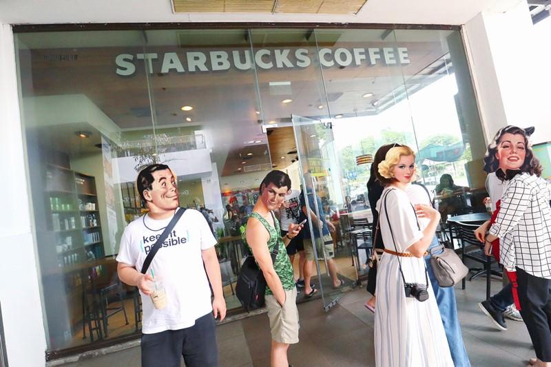 菲律賓美食 STARBUCKS COFFEE 星巴克 Harbor Point Subic Bay 價格比台灣便宜!Harbor Point Mall 購物商場1F