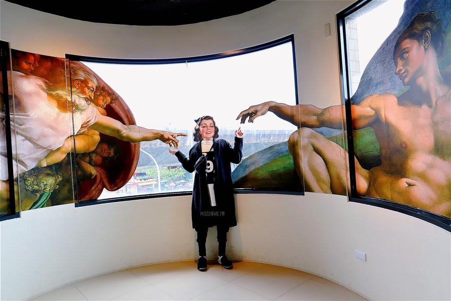 宜蘭五結景點【OMG畫框博物館】走入畫中當主角!3D彩繪牆!親子DIY手作體驗!免費化妝成畫中人!