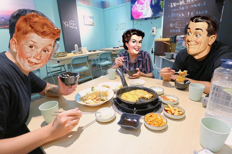 台中西屯美食【首爾韓鍋GangNam】首爾二代傳承的獨家秘方!逢甲夜市高CP值韓式料理!