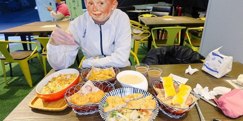 台中沙鹿美食【倉庫三家】蛤仔一顆只要一元!限量100顆加到滿出來!異國料理一次三享受!火鍋/丼飯/義大利麵/燉飯