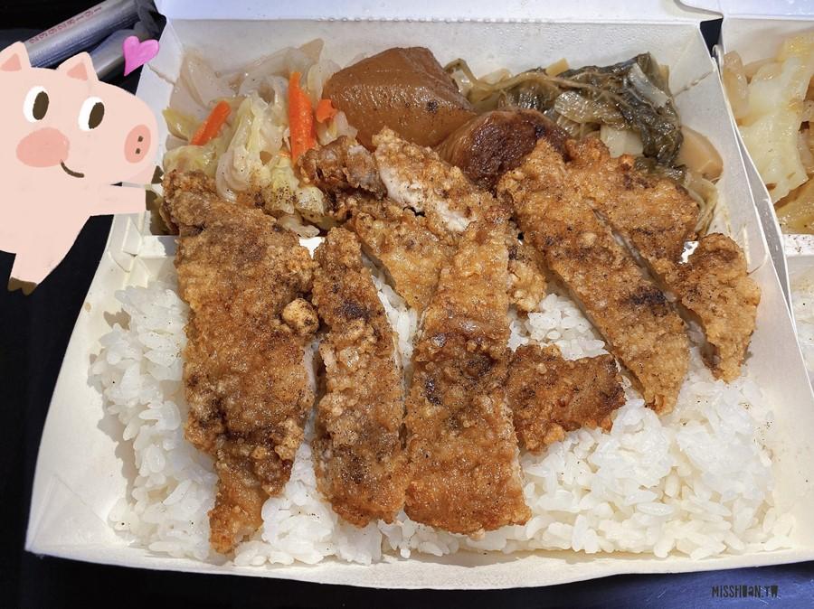台中太平美食【祥溢快餐】便當附3小菜!內用外帶都方便!