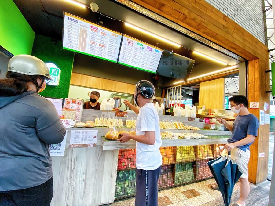 台中東區美食【澄食晨食/十甲店】早餐午餐都吃得到!平價~銅板價!Foodpanda外送熊貓!