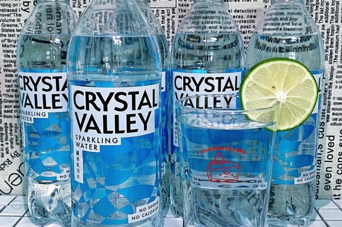 網路聲量第一的氣泡水【Crystal Valley 礦沛氣泡水】就是無糖!無熱量!零負擔!啵啵口感高碳酸氣泡飲!純喝~調飲都好涮嘴!炎炎夏日來一杯就是透心涼啦!金車線上購優惠多!
